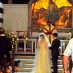 Hanako and Claudio's wedding