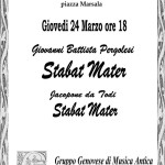 Stabat Mater - 24 March Concert
